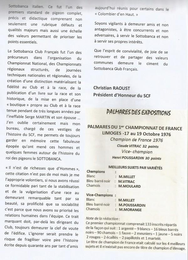 Le Sottobanca Banca Club Français fête  ces 40 ans (1976 - 2016 )  par Mr Pascal CLAUDE Sans_t15