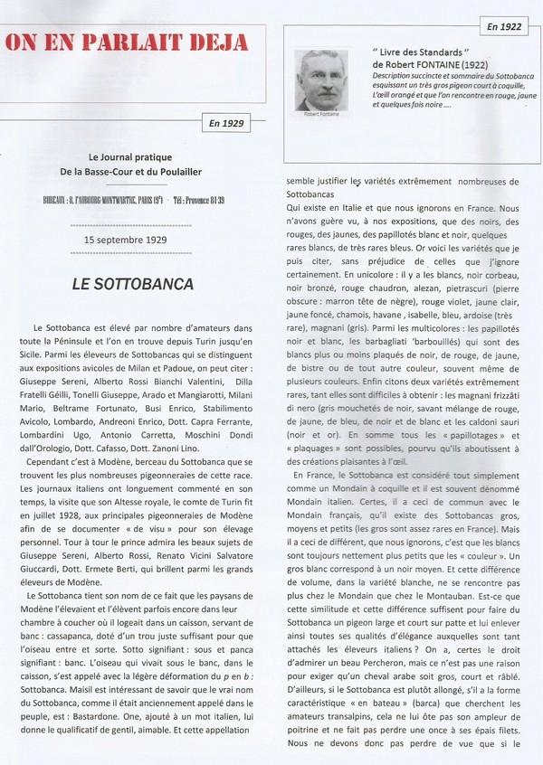 Le Sottobanca Banca Club Français fête  ces 40 ans (1976 - 2016 )  par Mr Pascal CLAUDE Sans_t17