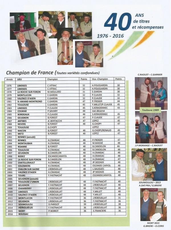 Le Sottobanca Banca Club Français fête  ces 40 ans (1976 - 2016 )  par Mr Pascal CLAUDE Sans_t24