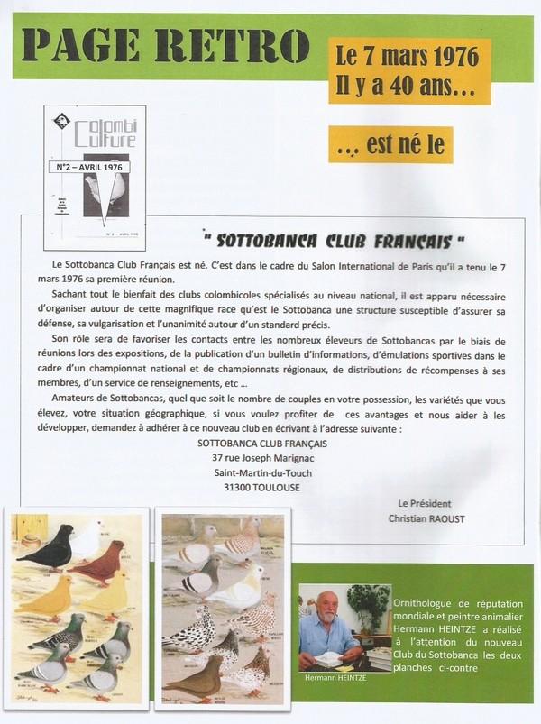 Le Sottobanca Banca Club Français fête  ces 40 ans (1976 - 2016 )  par Mr Pascal CLAUDE Sans_t31
