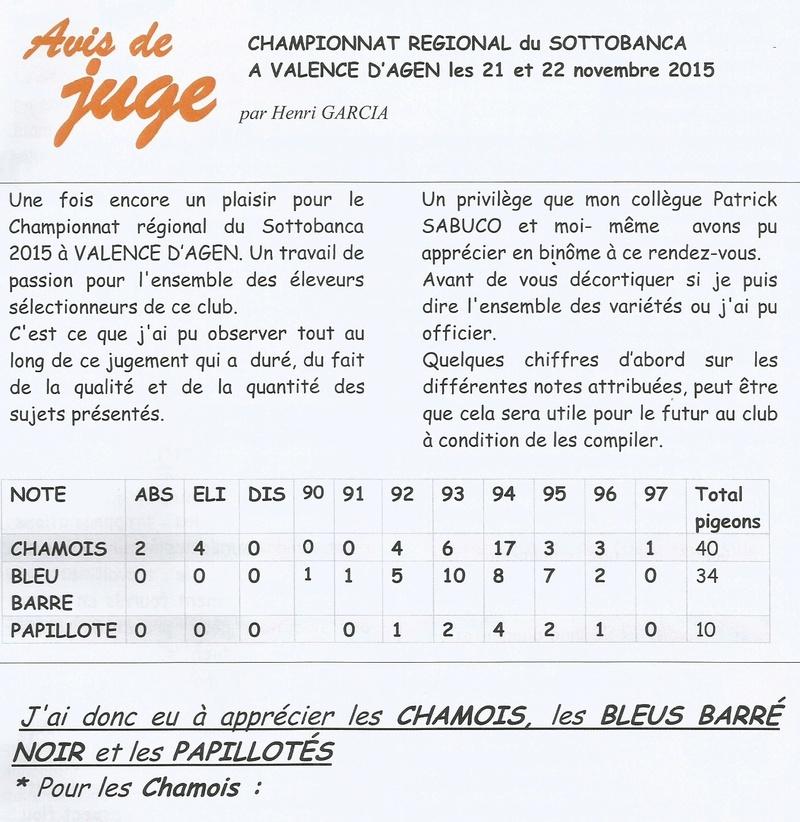 Avis de juge (Championnat régionale du sottobanca a VALENCE D'AGEN Sans_t47