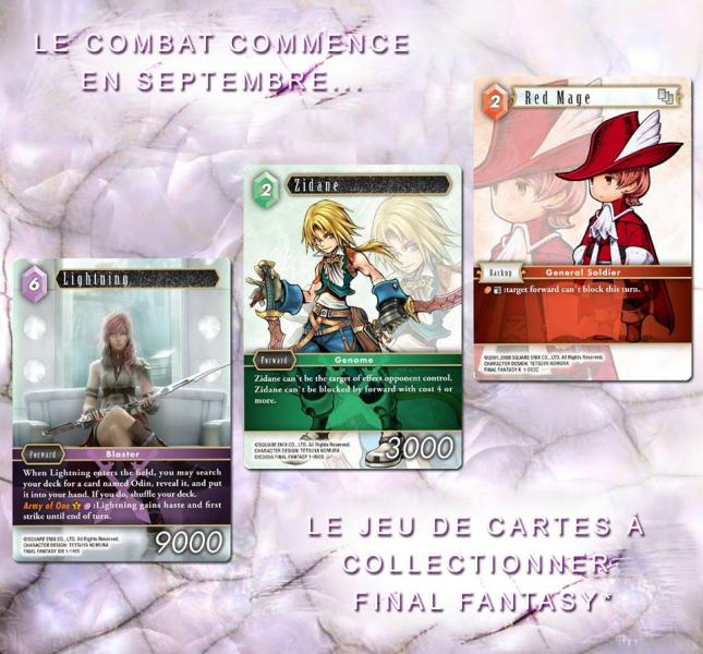 Jeu de carte à collectionner Final Fantasy Final-11