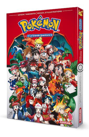 Artbook Pokemon la grande aventure Pokymo11