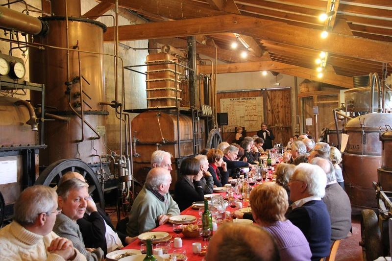 12 novembre : visite d'une distillerie à Labastide d' Armagnac 14525010