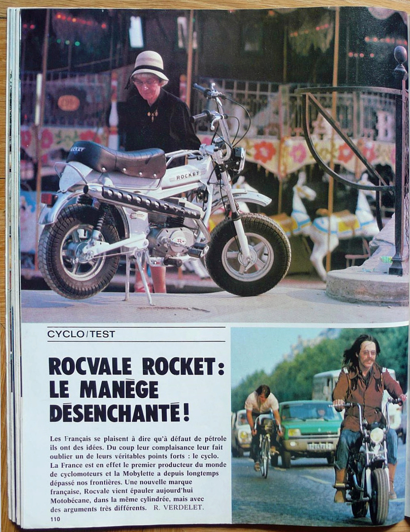 Recherche fiche technique constructeur Rocket M04 RT 49cc 2018-091