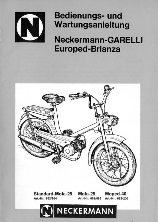 Garelli Europed Brianza  moteur Laura M48 2019-243
