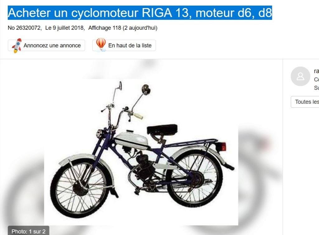 identification cyclomoteur 2019-268