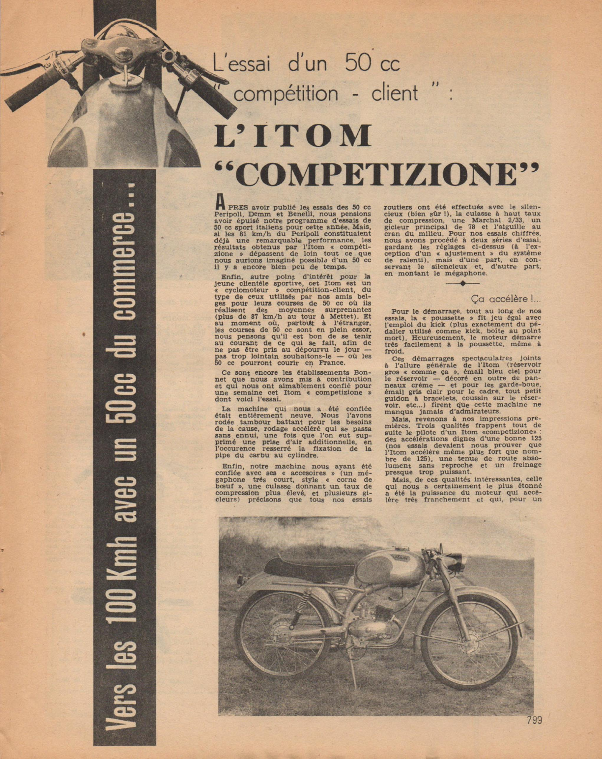 itom astor competition 1957 A214