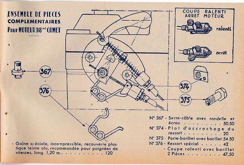 RESTAURATION Vélomoteur Ouragan Comet 98cc Clb_gu29