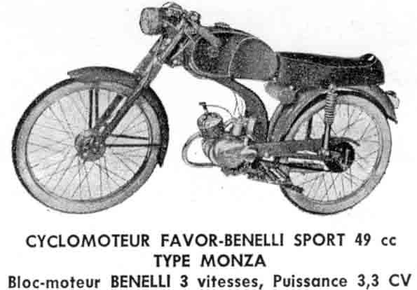 favor - favor - benelli type monza Favor010