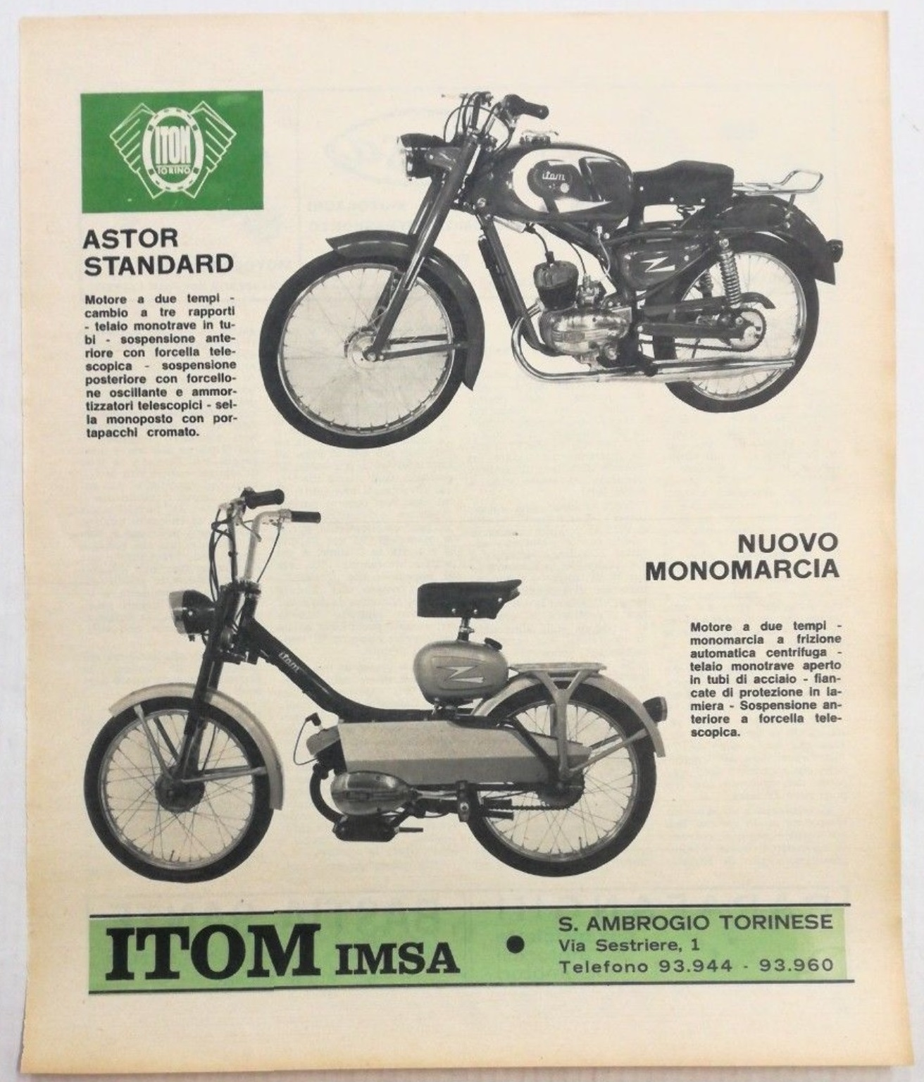 ITOM Monomarcia 1967 Itom_m11