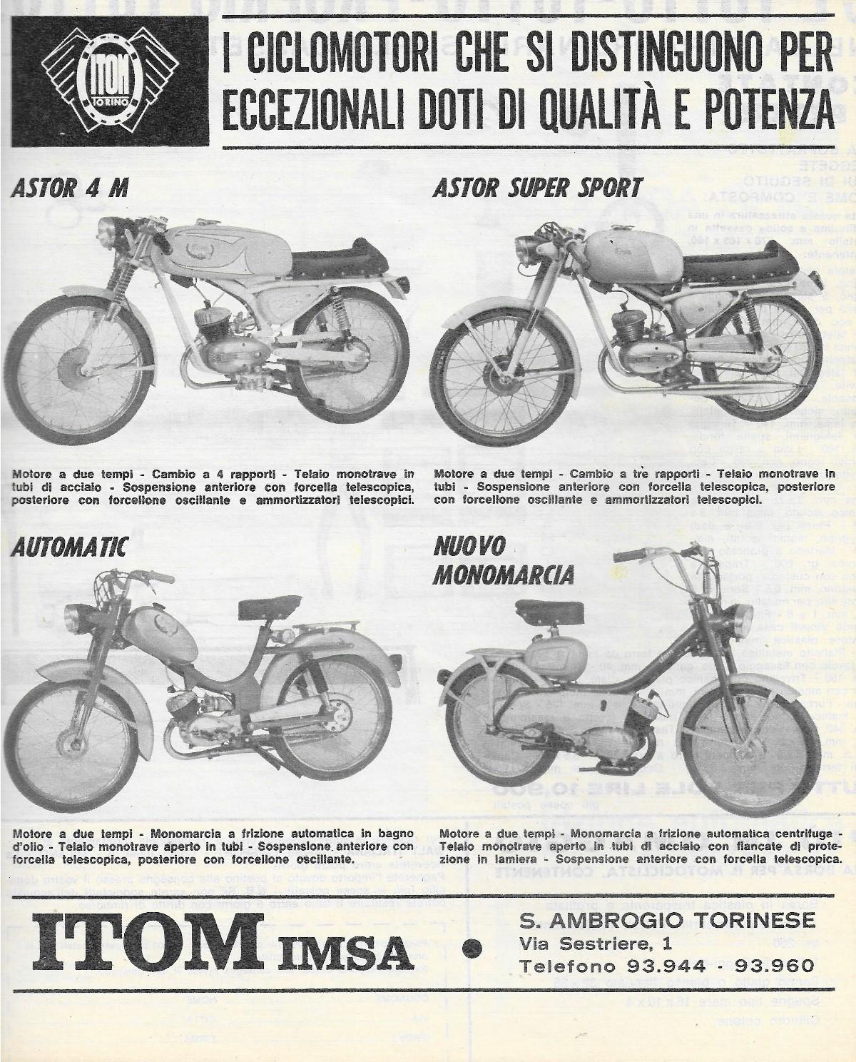 ITOM Monomarcia 1967 Itom_m12