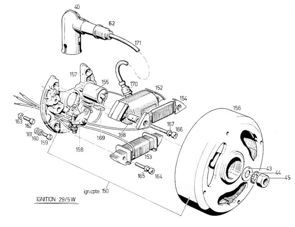 Garelli Europed Brianza  moteur Laura M48 Laura_14