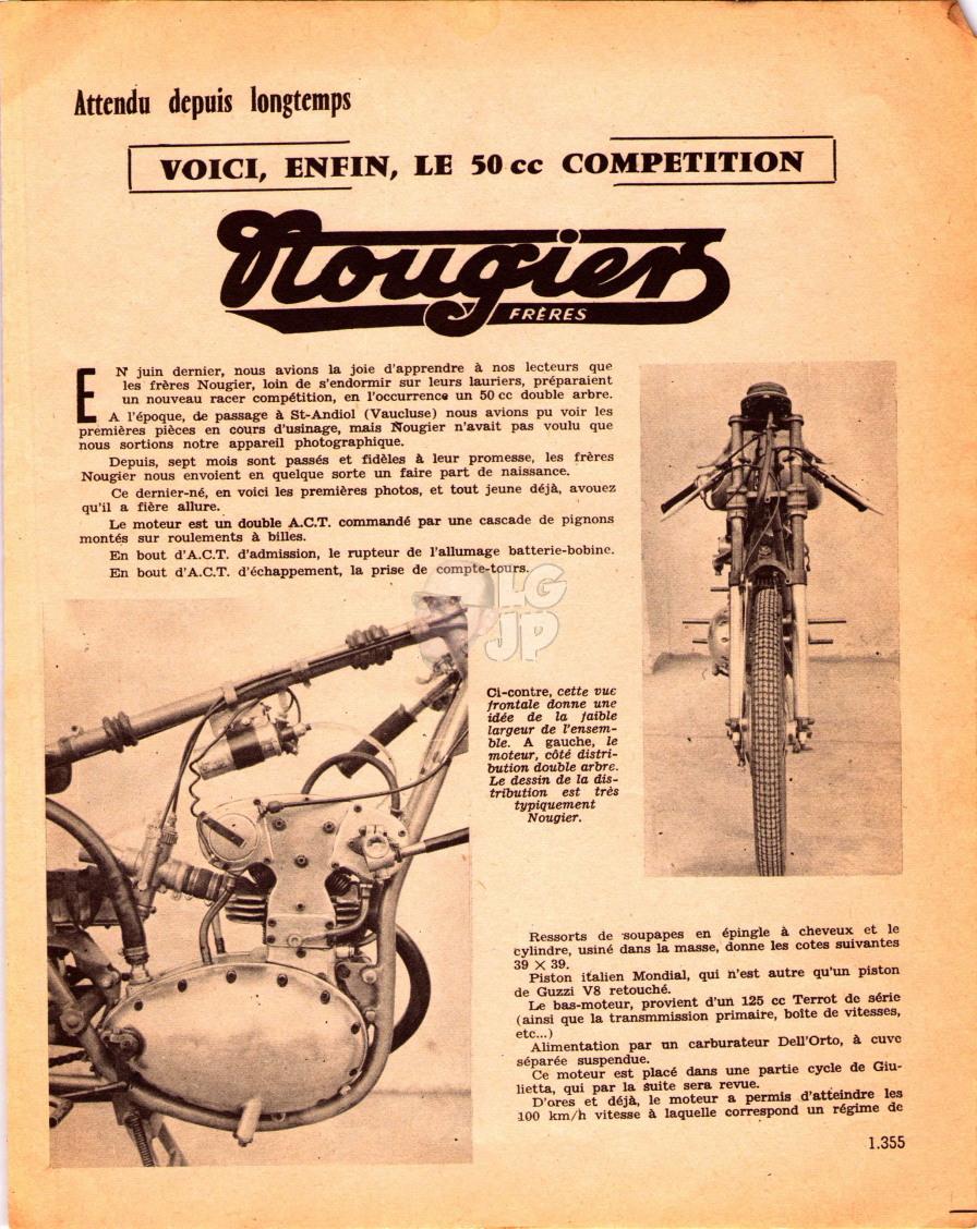 Qui connait cette machine de course Nougie11