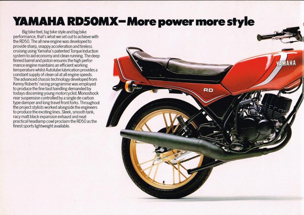 Presentation de ma RD 50MX Rd50mx10