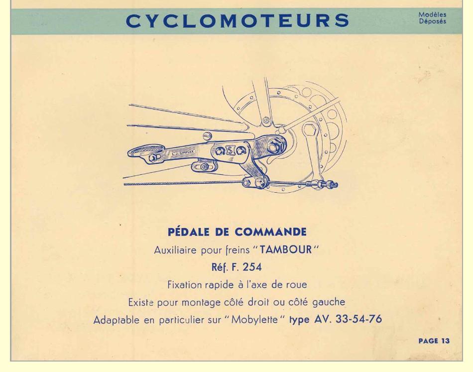 cyclo WORTHY avec moteur LE MISTRAL type 50E2 Simple13