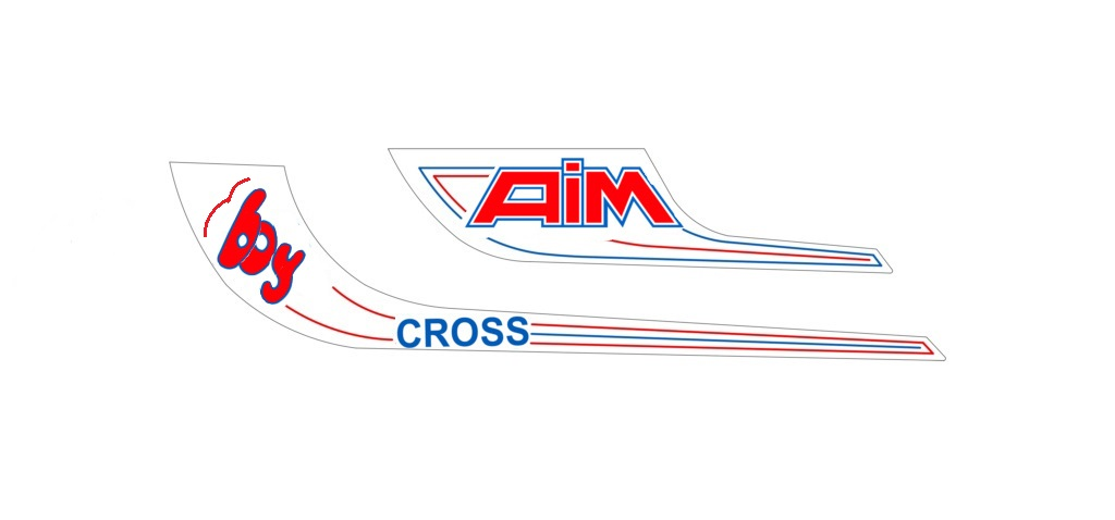AIM Boy cross à remettre en état Sticke11