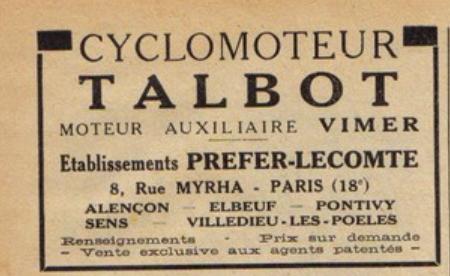 talbot/motoconfort/motobecane  Talbot11