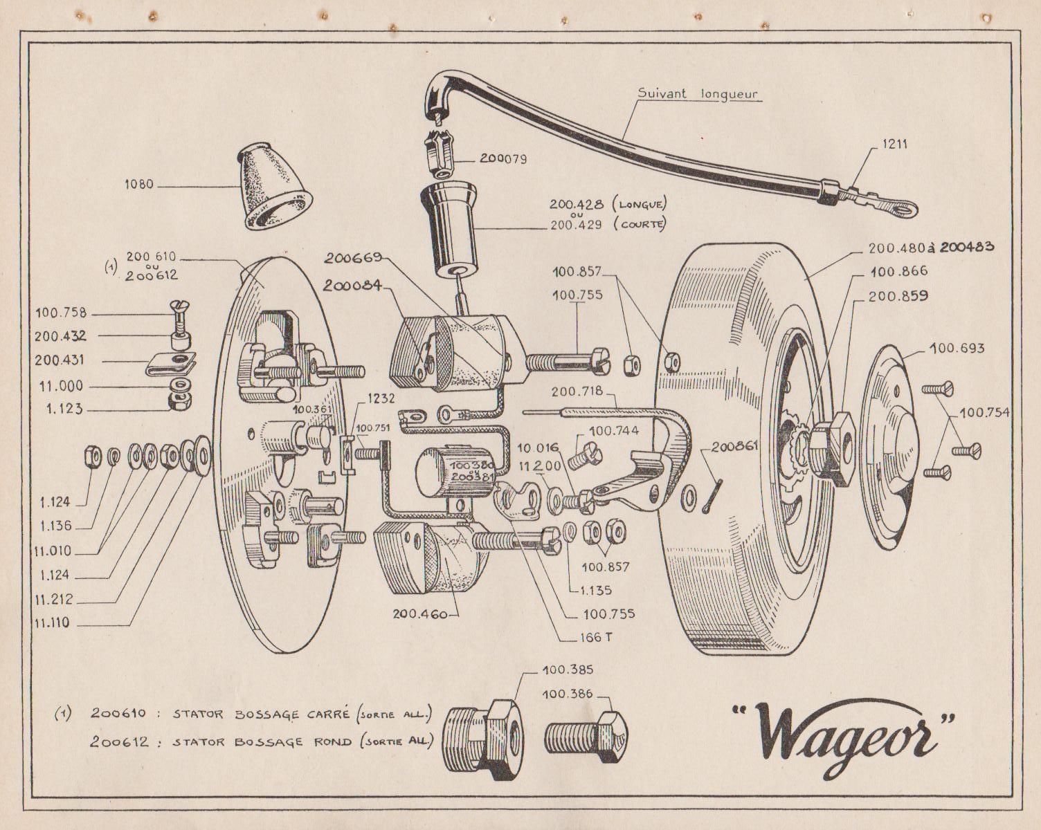Allumage Wageor Wageor14