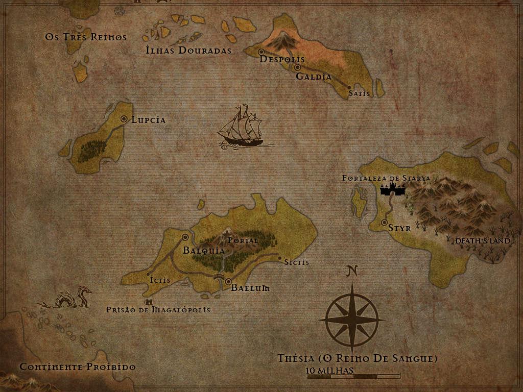 O Reino de Sangue. Thesia10