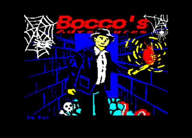 Bocco's adventures - nouveau jeu pour Oric Screen10
