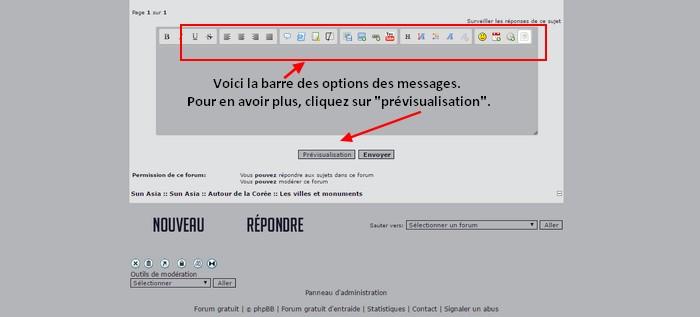 [FORUM] Les messages et ses options 412