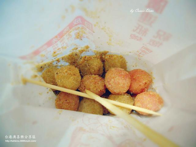 【小吃攤販 | 古早味 | 銅板美食 | 台北】炸湯圓裹花生粉好對味 ❤ 台灣古早味特色小吃 Dscn0911