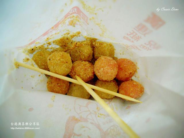 【小吃攤販 | 古早味 | 銅板美食 | 台北】炸湯圓裹花生粉好對味 ❤ 台灣古早味特色小吃 Dscn0912
