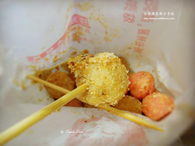 【小吃攤販 | 古早味 | 銅板美食 | 台北】炸湯圓裹花生粉好對味 ❤ 台灣古早味特色小吃 Dscn0915