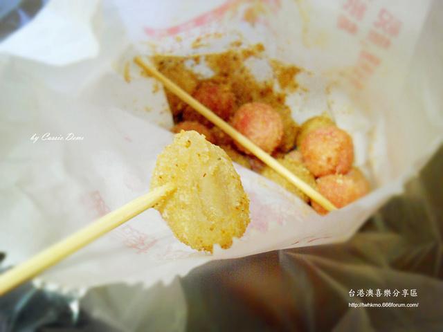 【小吃攤販 | 古早味 | 銅板美食 | 台北】炸湯圓裹花生粉好對味 ❤ 台灣古早味特色小吃 Dscn0916