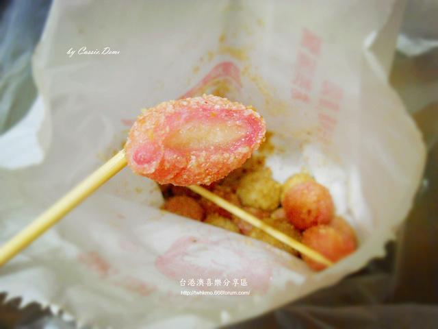 【小吃攤販 | 古早味 | 銅板美食 | 台北】炸湯圓裹花生粉好對味 ❤ 台灣古早味特色小吃 Dscn0918