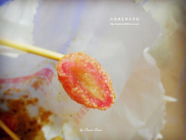 【小吃攤販 | 古早味 | 銅板美食 | 台北】炸湯圓裹花生粉好對味 ❤ 台灣古早味特色小吃 Dscn0919