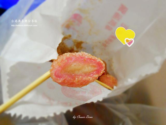 【小吃攤販 | 古早味 | 銅板美食 | 台北】炸湯圓裹花生粉好對味 ❤ 台灣古早味特色小吃 Dscn0920