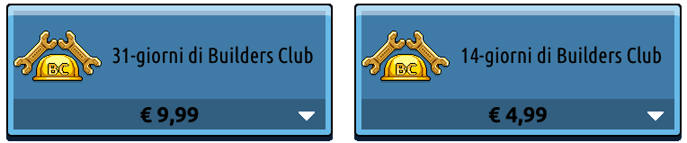 [ALL] Codici: Rimozione rinnovamento automatico al Builders Club Scherm85