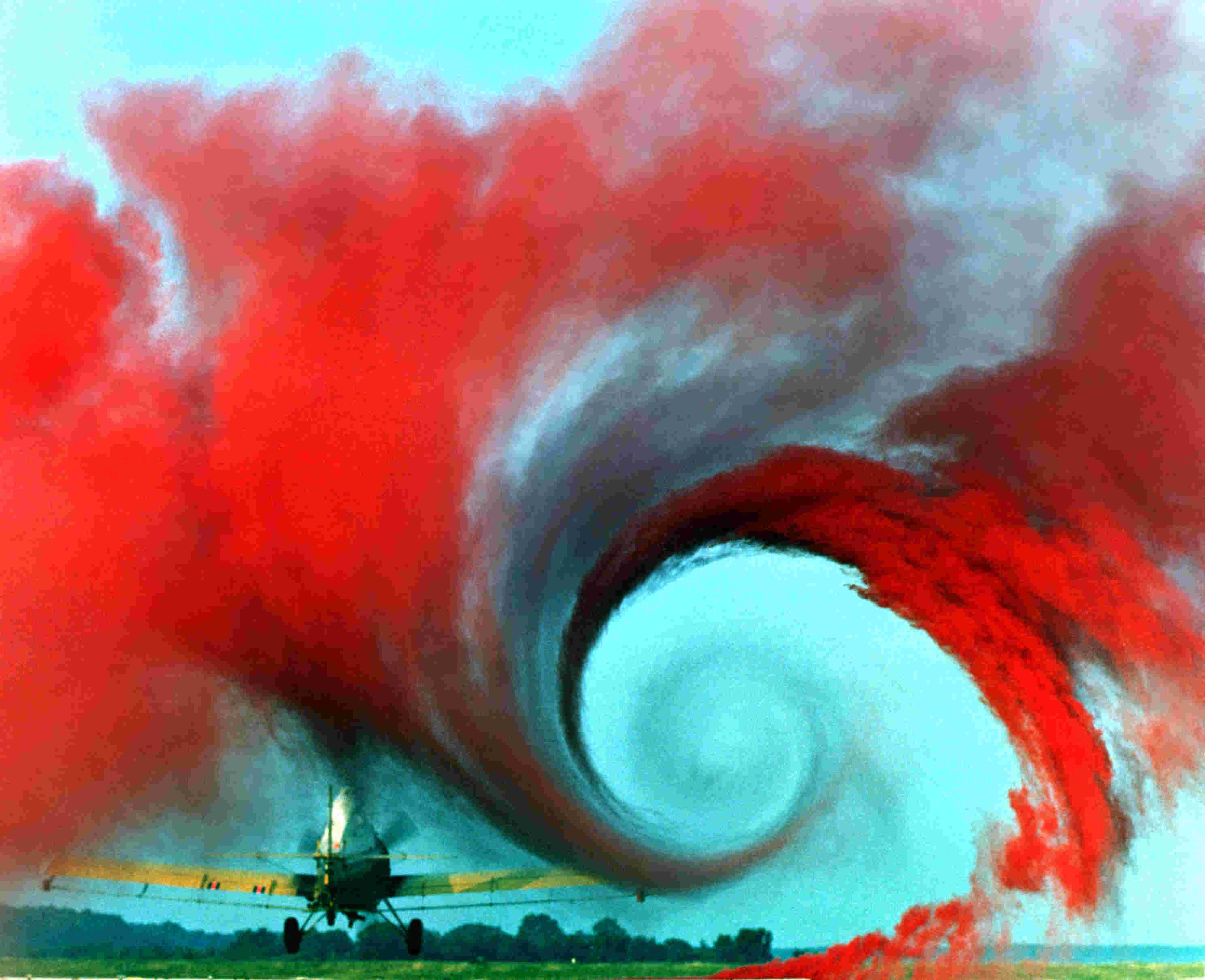 Turbulent flow  Airpla10