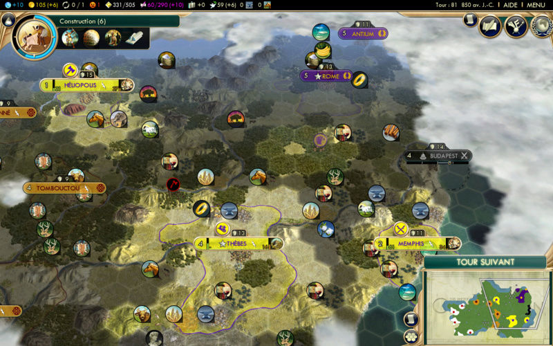 Récit de partie narratif: Civilisation égyptienne Seizie10
