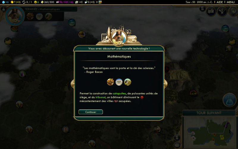 Récit de partie narratif: Civilisation égyptienne Septie10