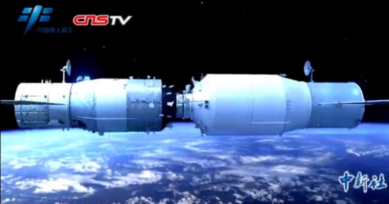 CZ-7 Y2 (Tianzhou-1) - 20.4.2017 Screen38