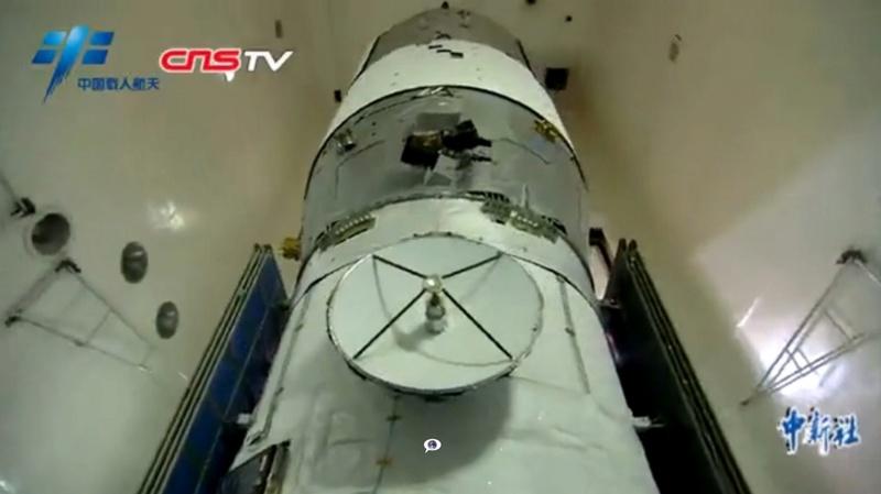 CZ-7 Y2 (Tianzhou-1) - 20.4.2017 Screen39