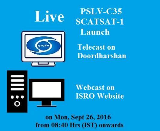 PSLV-CA C35 (Scatsat-1) - 26.09.2016 Screen41