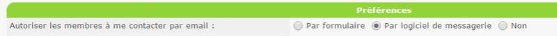 Je ne reçois plus de messages du forum dans ma messagerie ! Screen46