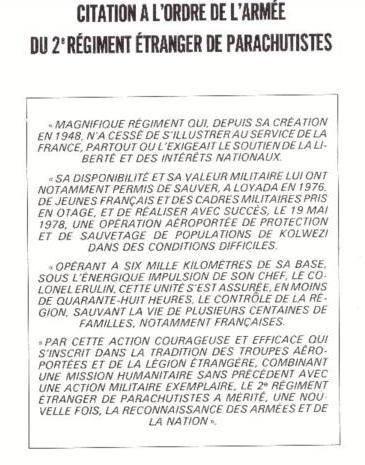 CITATION A L'ORDRE DE L' ARMEE 13814210