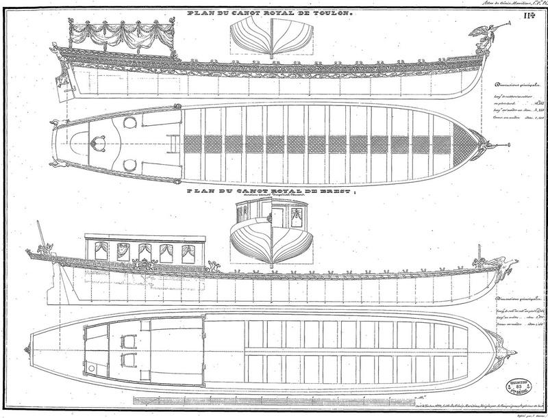Canot imperial de Napoléon Canot_10