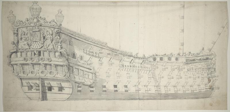 La Reine - vaisseau de premier rang au 1/90 ème Reyne_11