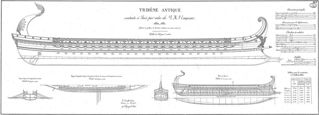 Birème (grecque ou romaine) Trirym10
