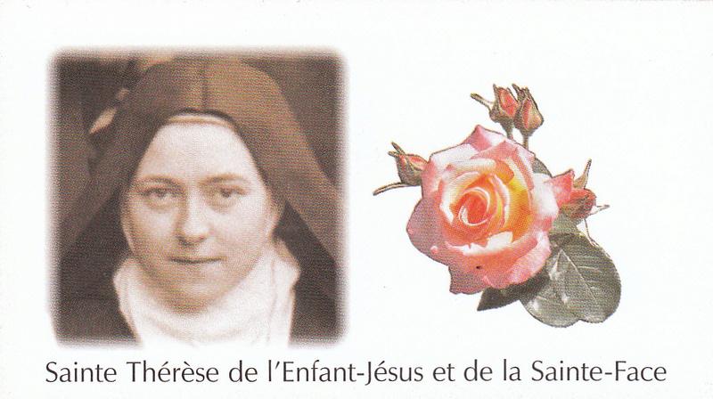 Petites paroles de Sainte-Thérèse de l'Enfant-Jésus et de la Sainte-Face - Page 5 C-010