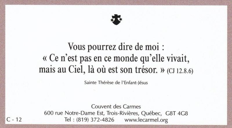 Petites paroles de Sainte-Thérèse de l'Enfant-Jésus et de la Sainte-Face - Page 5 C-1210