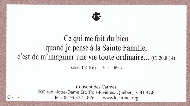 Petites paroles de Sainte-Thérèse de l'Enfant-Jésus et de la Sainte-Face - Page 5 C-1710