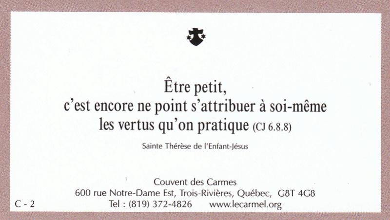 Petites paroles de Sainte-Thérèse de l'Enfant-Jésus et de la Sainte-Face - Page 5 C-210