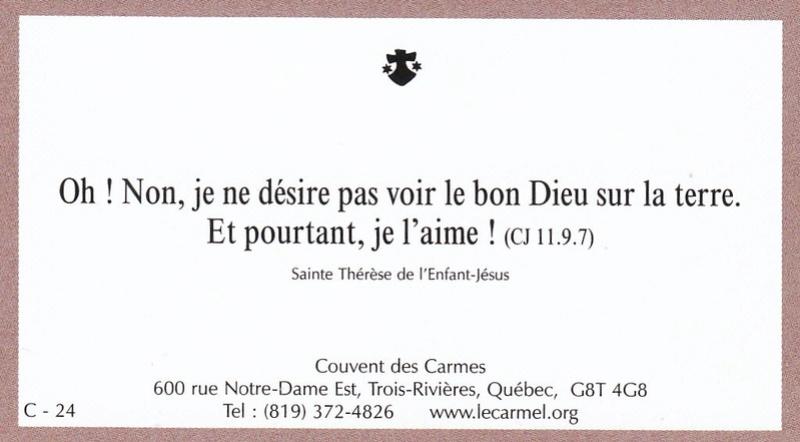 Petites paroles de Sainte-Thérèse de l'Enfant-Jésus et de la Sainte-Face - Page 6 C-2410